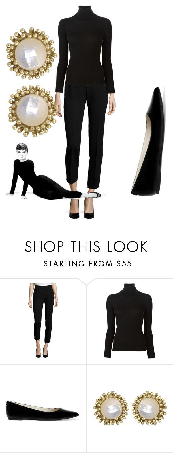 """Modern Day - Audrey Hepburn"" by mackinmod ❤ liked on Polyvore featuring Foundrae, Ermanno Scervino, MICHAEL Michael Kors, Kendra Scott, modern, women's clothing, women's fashion, women, female and woman"