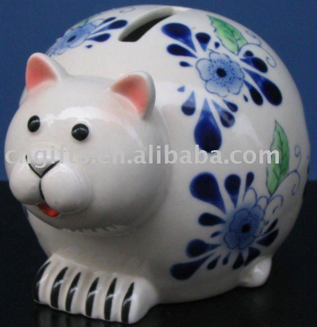Piggy Shaped Cat Banks Google Search Piggy Banks