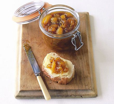 I love mango chutney. It is probably one of my favourite things and I keep intending to make it... one of these days!