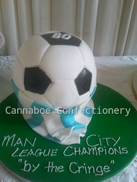 #Soccer mad #cake by cacamilis Check out more #cakes for all occasions at www.cacamilis.ie/birthday-cakes/