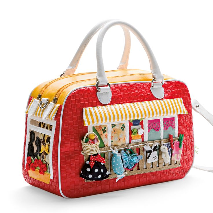 Sweet Home handbag red