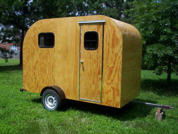 Teardrop Camper Trailer Tear Drop Rv Camp Plans 2 The O
