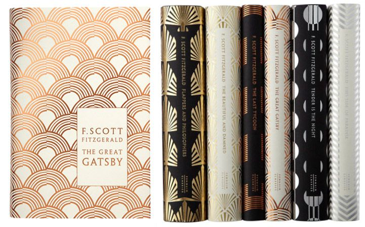 6 Stunning F. Scott Fitzgerald Book Covers - My Modern Metropolis...These books are the inspiration :)