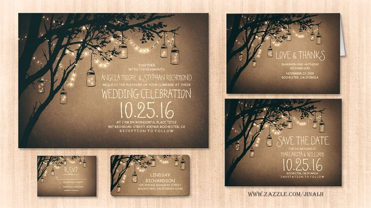 read more – TWINKLE LIGHTS MASON JARS RUSTIC WEDDING INVITATION | Wedding and Party Invitations