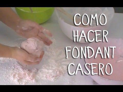 CÓMO HACER FONDANT FÁCILY ECONÓMICO!!!! - Madelin's Cakes - YouTube