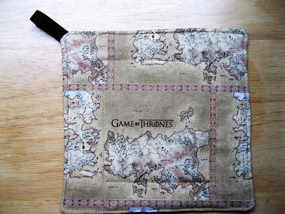 Game of Thrones GOT Map of Westeros Potholder Pot Handler