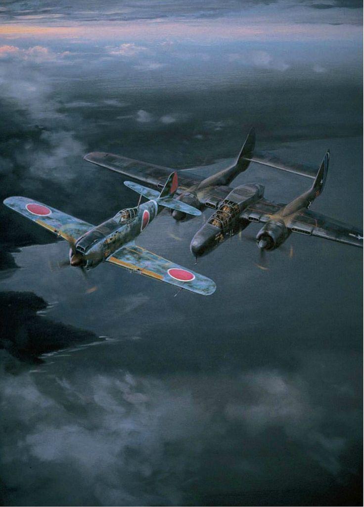 30.12.1944r, Filipiny. Nocne spotkanie Ki-84 i P-61.