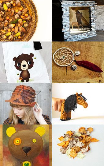 Shade of autumn cooming by Monika Pudzianowska on Etsy--Pinned with…