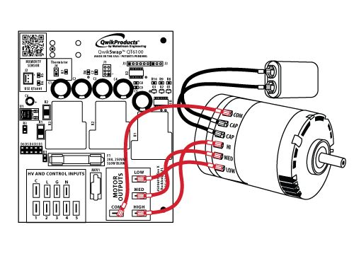 Duct Fan Speed Control Wiring Diagram