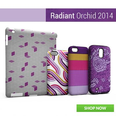 Radiant Orchid Cases and Skins by Skinit! #radiantorchid #pantone #color  http://www.skinit.com/designs/patterns-textures?affiliate=pinterest