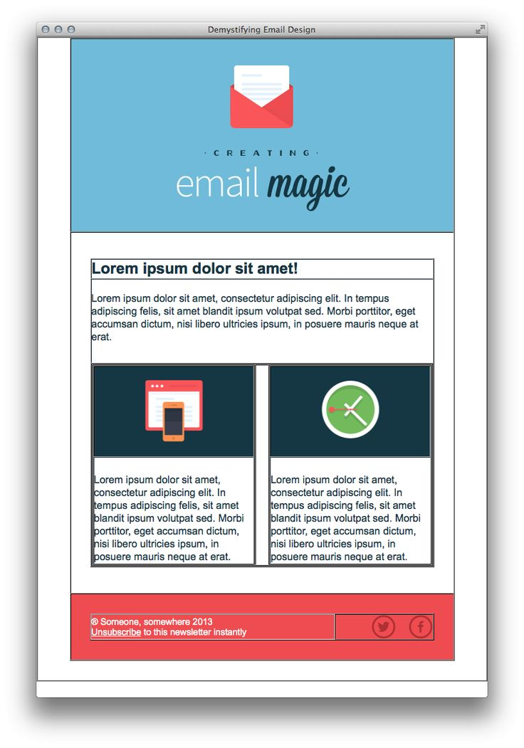 Best 25+ Html email templates ideas on Pinterest | Html email ...
