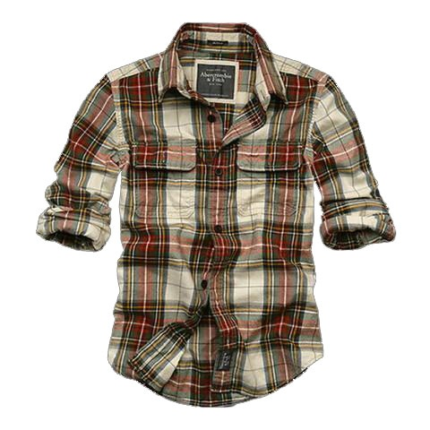 Baxter Mountain Plaid Shirt by Abercrombie and Fitch
