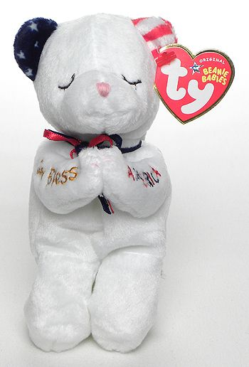American Blessing - Bear - Ty Beanie Babies