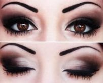 Как сделать макияж для больших круглых глаз