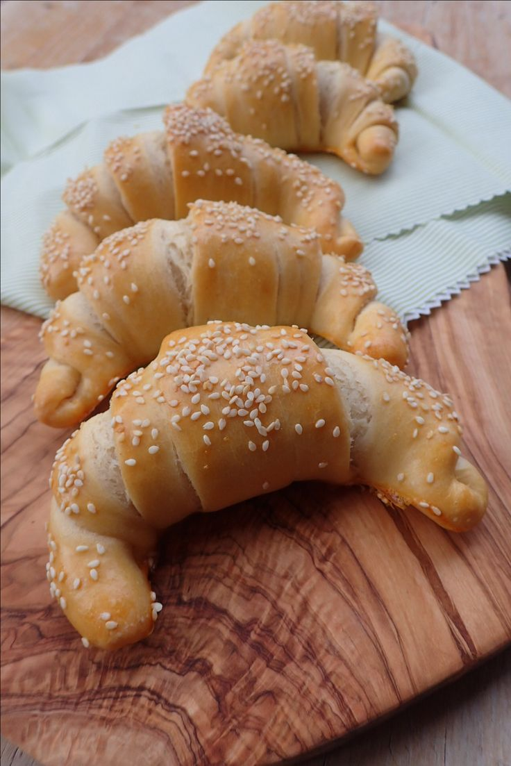 Nemecké rožky / recept na www.sistersbakery.sk