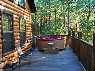 beavers bend cabin autumn pointe located in southern