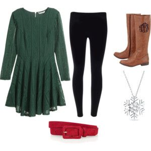Christmas Outfit Idea #3: