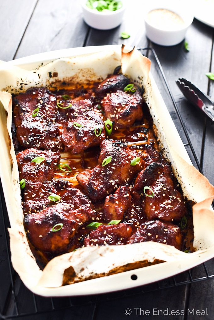 2028 best korean food recipe images on pinterest cooking food sweet korean paleo chicken thighs forumfinder Choice Image