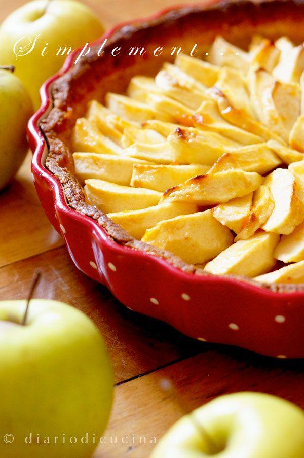 Tarte aux Pommes o Torta di Mele Francese - Diario di Cucina. Expat-Mamma in Francia