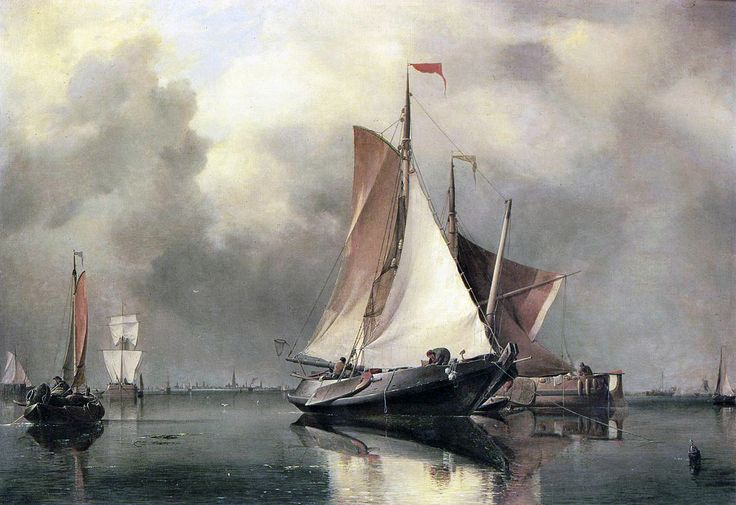 Edward William Cooke (1811-1880) was an English painter specializing in maritime scenery.