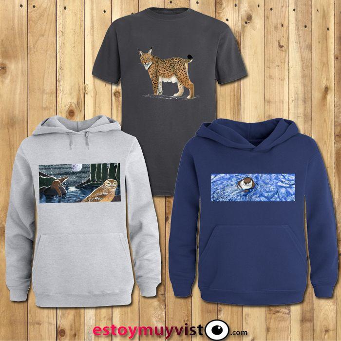 Camisetas y sudaderas personalizadas del creativo Naturae. //  Camiseta: http://estoymuyvisto.com/?a=8&d=3278&c=17  //  Sudadera azul: http://estoymuyvisto.com/?a=48&d=2167&c=52 //  Sudadera gris: http://estoymuyvisto.com/?a=41&d=2168&c=5  //