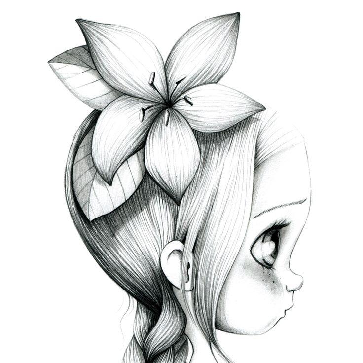 Fille Licorne Petite Fille Dessin Kawaii