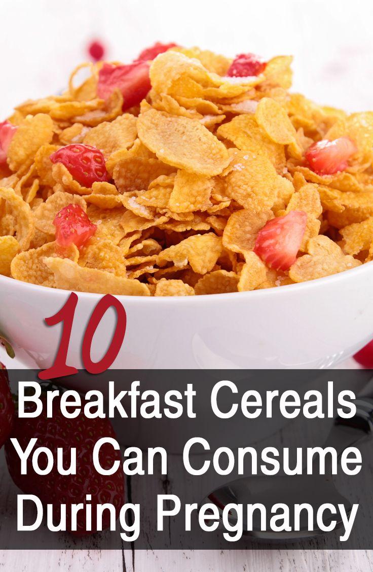 10 best breakfast cereals for pregnant women