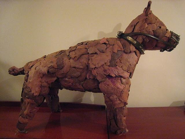 All bark, no bite  - A dog I made from bark