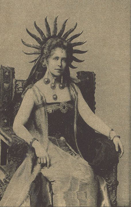 You've just got to love Queen Marie of Romania.