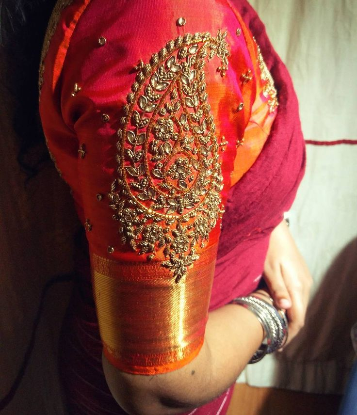 "113 Likes, 4 Comments - Sameenas (@sameenas.store) on Instagram: ""When pattu meets zardosi it's a match made in heaven.. #indianembroidery #indianbride…"""
