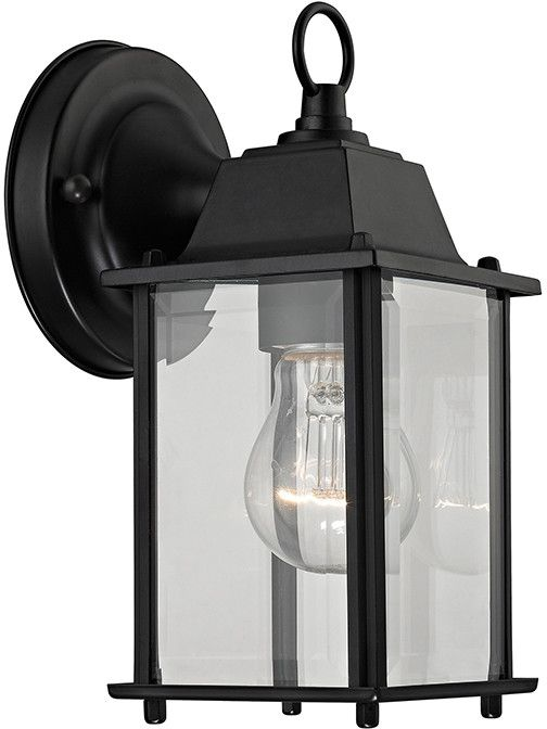 Cornerstone 9231ew 65 1 Light Outdoor Wall Sconce In Matte Black