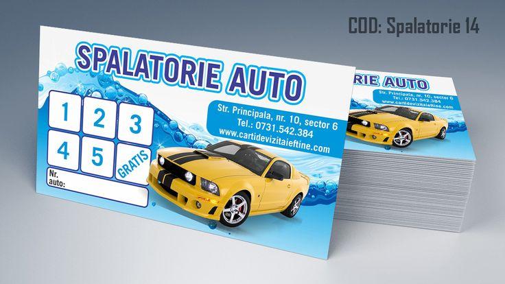 carti de vizita spalatorie auto, detailing auto, polish auto, car wash business cards templates