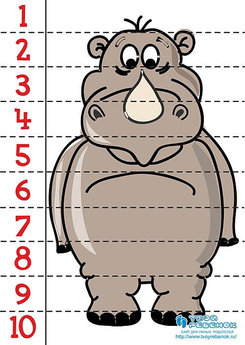 Puzzle rinoceronte