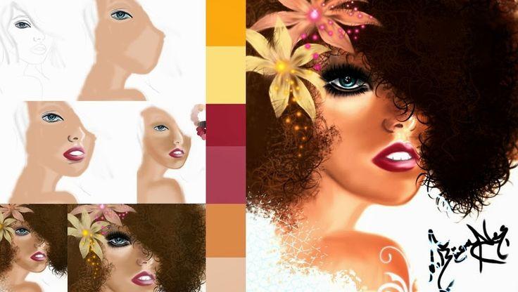 Digital Art, Illustration (Dijital Boyama Sanatı) Nedir?