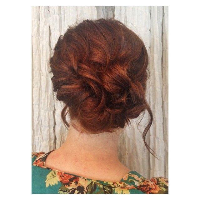 #bridesmaid #updo #blackorchidsalon #weloveweddings