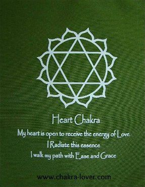 Heart Chakra information. Affirmations, yoga, oils, herbs, meditation.