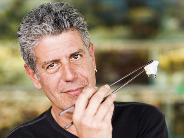 Anthony Bourdain and he cooks! | The 17 Hottest Silver Foxes