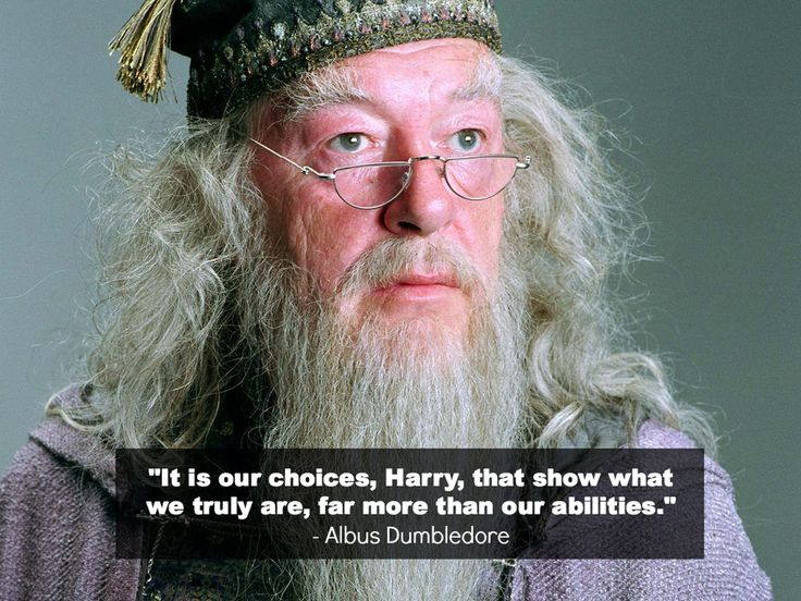 Albus Dumbledore: It is our choices, Harry, that shows what we truly are, far more than our abilities - Harry Potter and the Chamber of Secrets