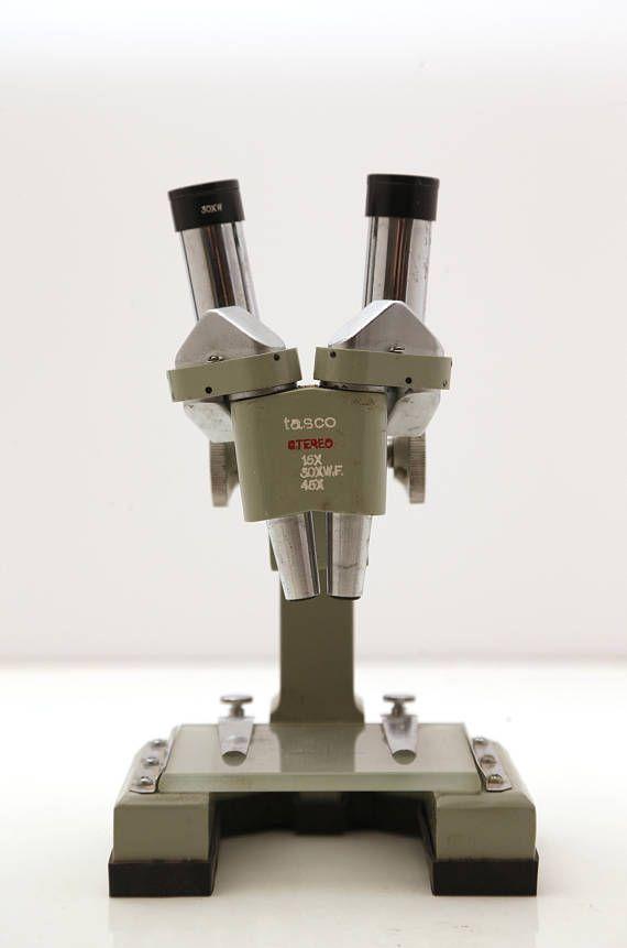 Vintage Tasco 45XSM Stereo Microscope Kit