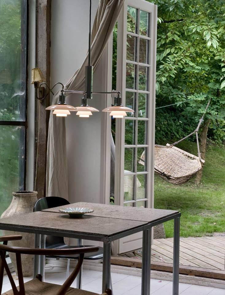 PH 2/1 Stem pakabinamas šviestuvas. Dizainas Poul Hennigsen.