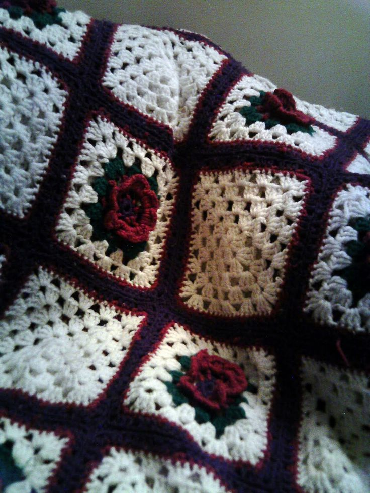 Similiar Black Rose Crochet Afghan Keywords