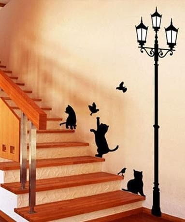 I'm not a cat person but I love this whimsical idea.