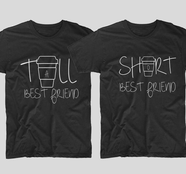 cost scăzut design de calitate noi de înaltă calitate Pin on Tricouri BFF - pentru cele mai bune prietene