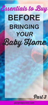 Are you getting ready to become a parent? But, don't know what essentials to buy before bringing the baby home? I felt the same way. Check out this baby registry list of must-have baby products that help you become prepared for your little one to come hom