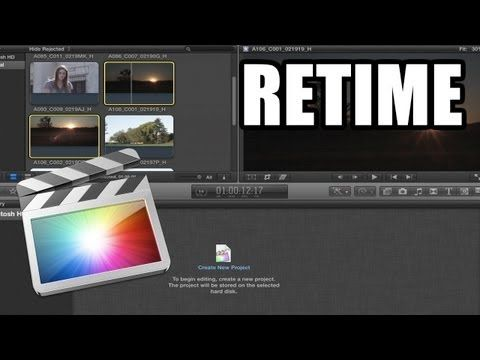Final Cut Pro X - #22: Slow Motion, Fast Forward y Freeze Frame - YouTube