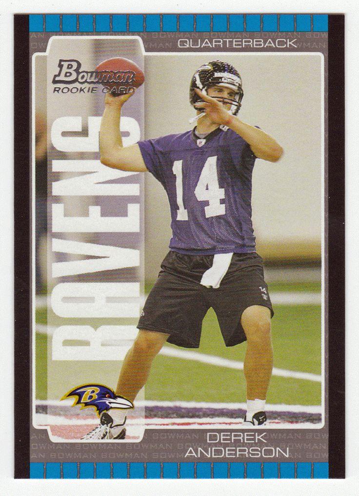 Derek Anderson RC # 164 - 2005 Bowman Football NFL Rookie