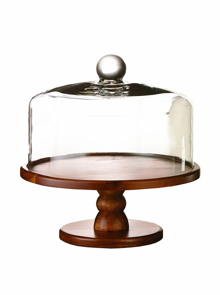 PEDESTAL CAKE PLATE WITH DOME
