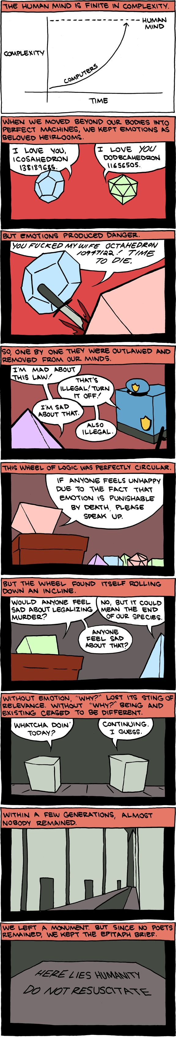 I always like these comics. The little intellectual jokes. Kinda. Or maybe I'm just weird. Makes more sense.