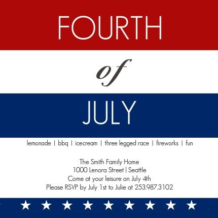 Here are some great 4th of July trivia ideas you can use for an upcoming Independence Day celebration. Everyone loves trivia. Incorporating trivia into your 4th of July celebration will really make your party a hit. You and your guests will have a blast playing, and enjoy learning more about the history of the holiday and America's independence.