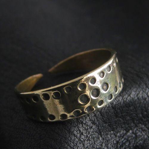 Bronze Viking ring. Reenactment. Medieval. Norse. Scandinavia. SCA.